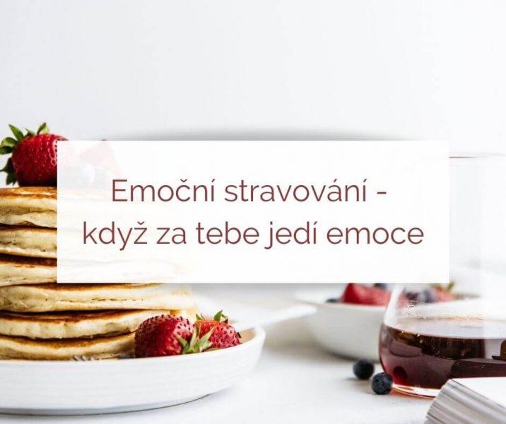Emoční stravování - když za tebe jedí emoce